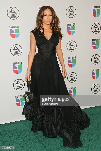 Singer/actress Jennifer Lopez attends the 7th Annual Latin Grammy Awards at Madison Square Garden November 2 2006 in New York City