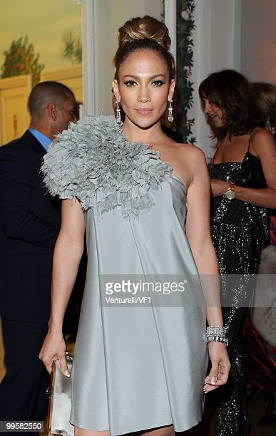 Singer/actress Jennifer Lopez attends the Vanity Fair and Gucci Party Honoring Martin Scorsese during the 63rd Annual Cannes Film Festival at the...