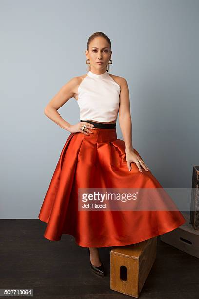Singer/actress Jennifer Lopez is photographed for TV Guide Magazine on January 17 2015 in Pasadena California