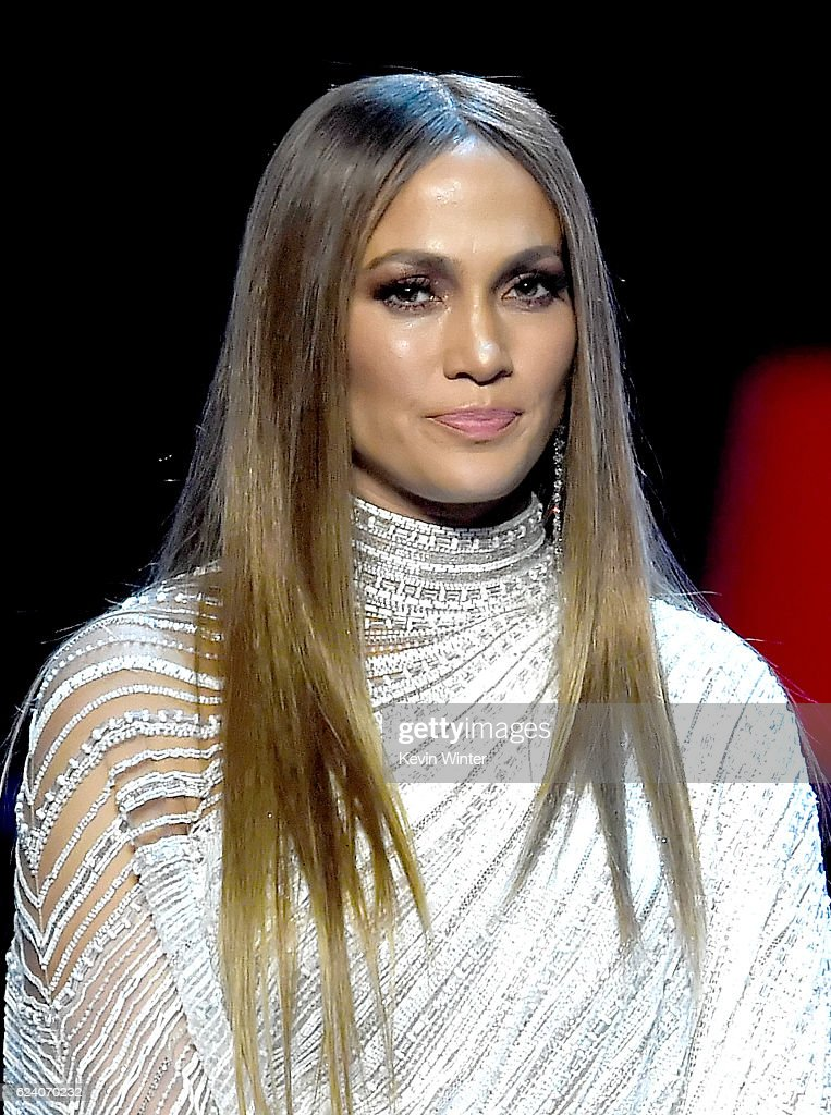 Singer/actress Jennifer Lopez speaks onstage during The 17th Annual Latin Grammy Awards at T-Mobile Arena on November 17, 2016 in Las Vegas, Nevada.