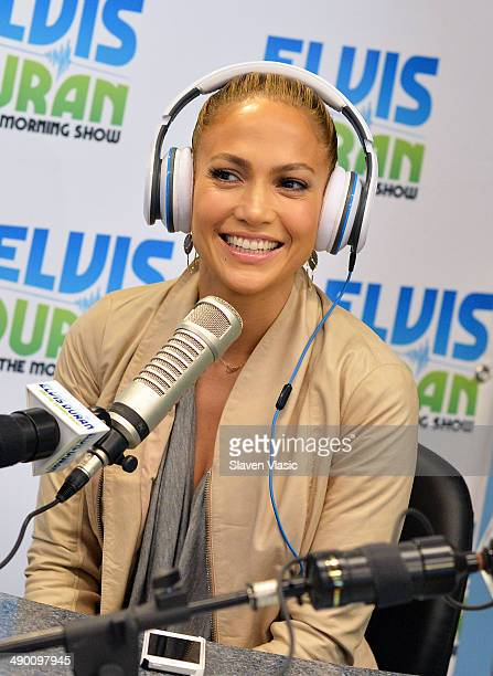 Singer/actress Jennifer Lopez visits The Elvis Duran Z100 Morning Show at Z100 Studio on May 13 2014 in New York City