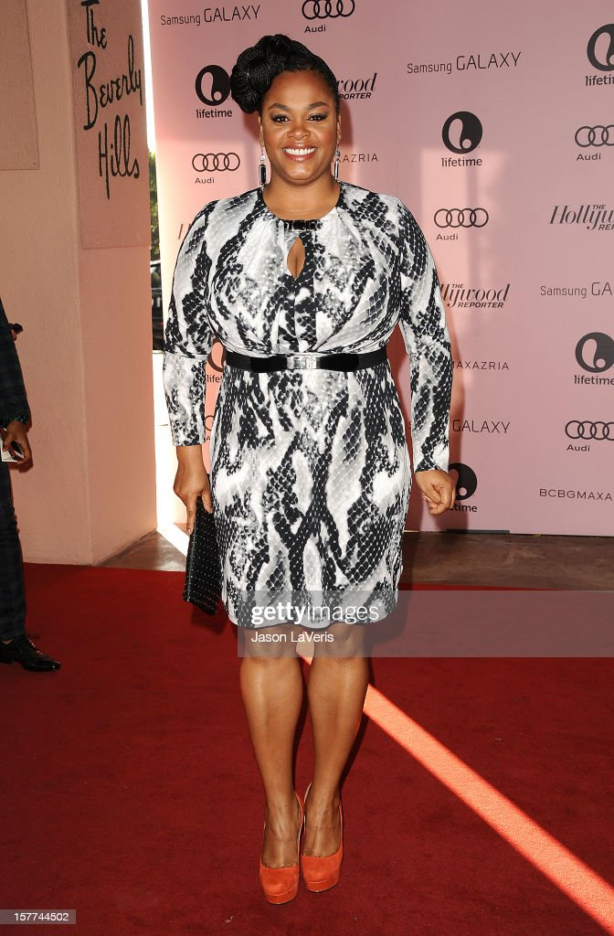 Singer/actress Jill Scott attends the Hollywood Reporter's 21st annual Women In Entertainment breakfast at The Beverly Hills Hotel on December 5, 2012 in Beverly Hills, California.
