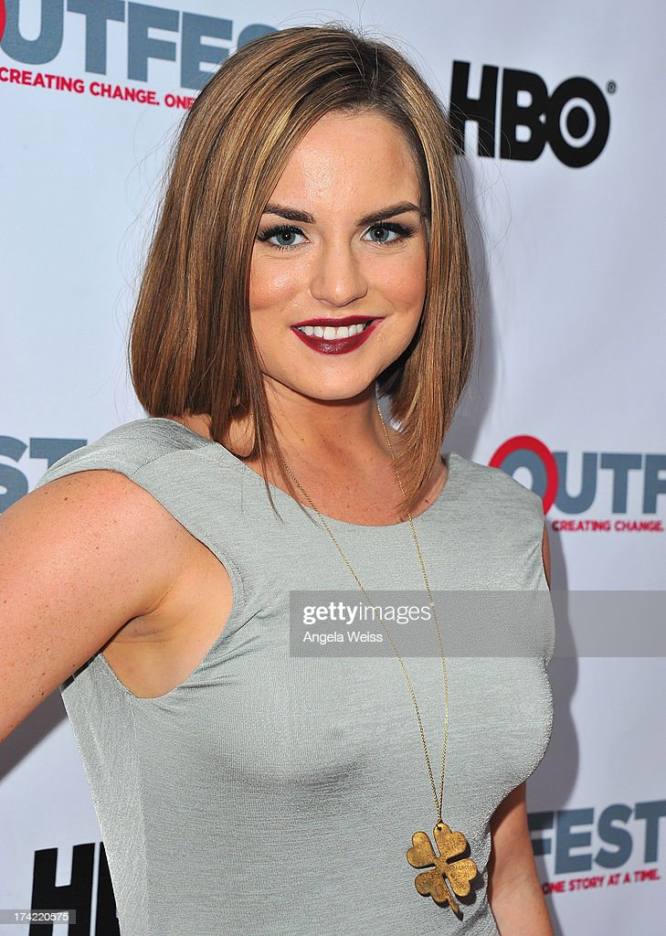 Singer/actress JoJo arrives at the 2013 Outfest Film Festival closing night gala of 'G.B.F.' at the Ford Theatre on July 21, 2013 in Hollywood, California.