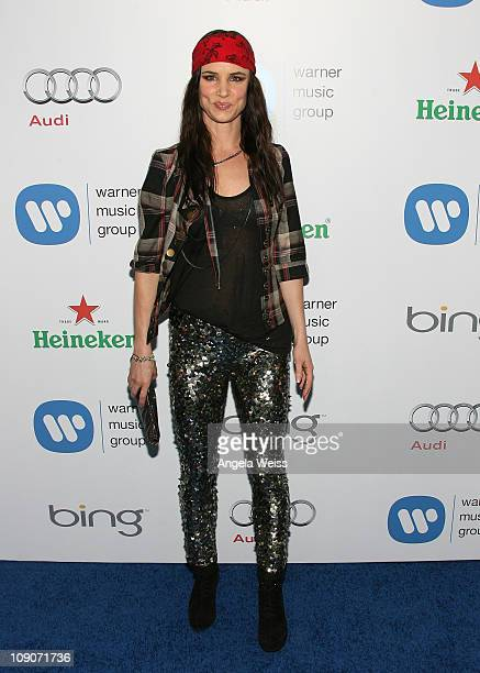 Singer/actress Juliette Lewis arrives at Warner Music Group's 2011 Post GRAMMY Event at Soho House on February 13 2011 in West Hollywood California
