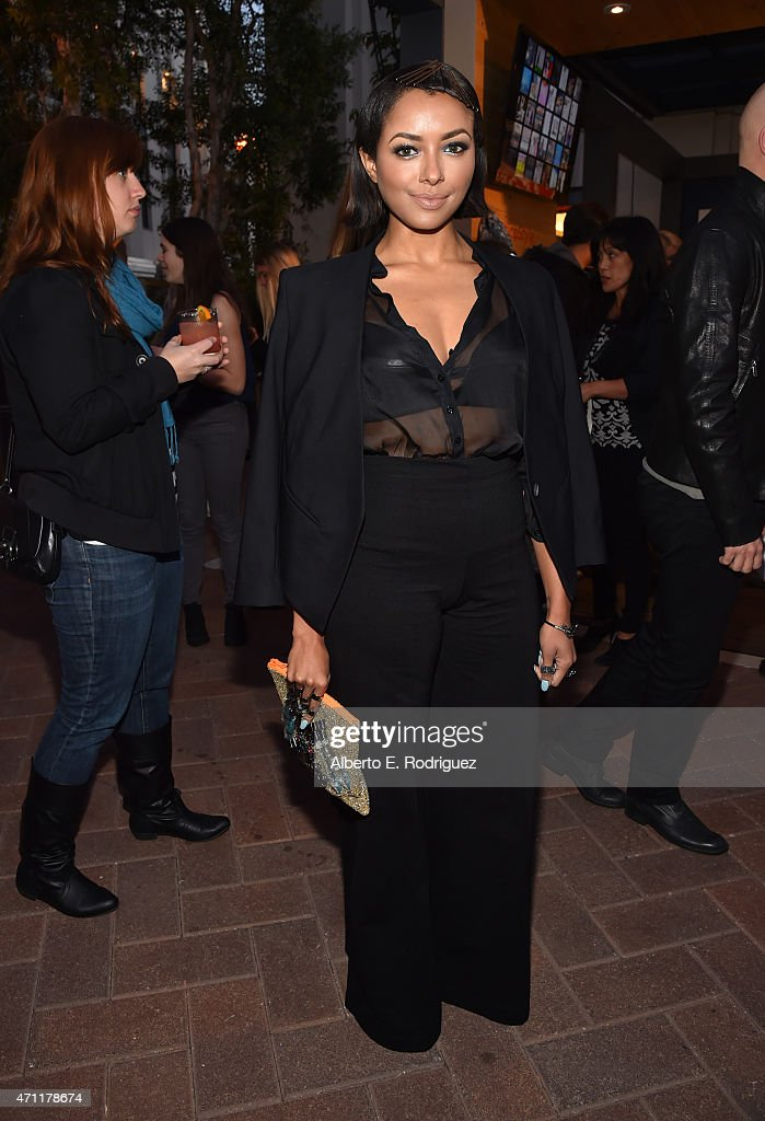 Singer/actress Kat Graham attends City Year Los Angeles Spring Break at Sony Studios on April 25, 2015 in Los Angeles, California.