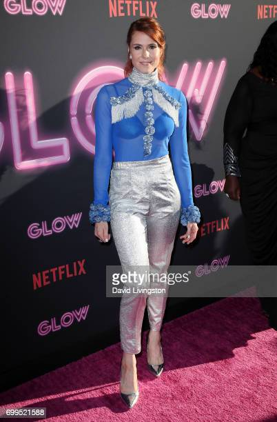 Singer/actress Kate Nash attends the premiere of Netflix's 'GLOW' at The Cinerama Dome on June 21 2017 in Los Angeles California