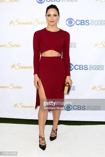 Singer/Actress Katharine McPhee attends the CBS Television Studios 3rd Annual Summer Soiree Party held at The London Hotel on May 18, 2015 in West...