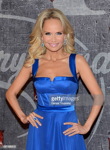 Singer/actress Kristin Chenoweth arrives at the 2012 American Country Awards at the Mandalay Bay Events Center on December 10 2012 in Las Vegas Nevada