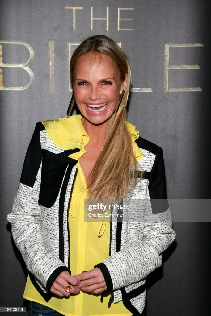 Singer/actress Kristin Chenoweth attends 'The Bible Experience' Opening Night Gala at The Bible Experience on March 19, 2013 in New York City.