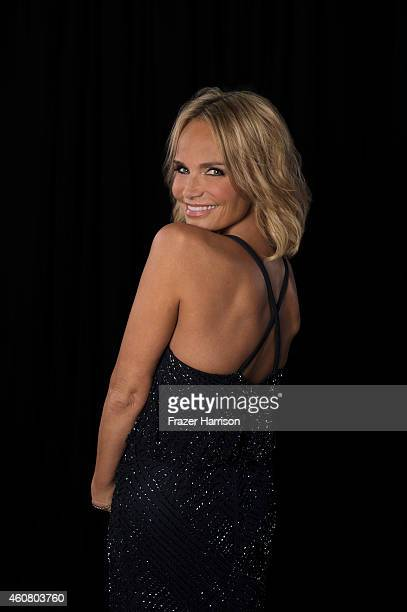 Singer/actress Kristin Chenoweth poses for a portrait at Logo TV's NewNowNext Awards on December 2 2014 at Kimpton Surfcomber Hotel in Miami Beach...