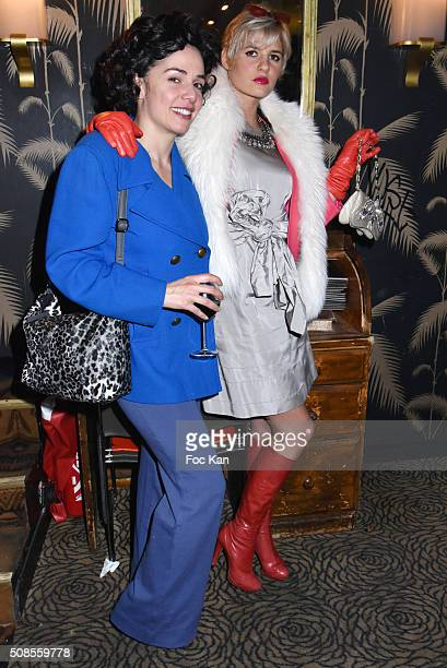 Singer/actress Kym Thiriot and actress/director Zazon attend 'Are you Talking to me' Tribute to Martin Scorcese Party Hosted by Nicolas Ullmann at...
