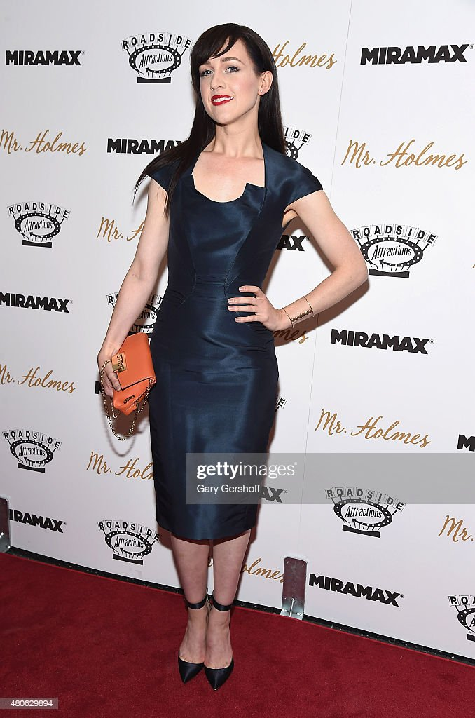 Singer/actress Lena Hall attends the 'Mr. Holmes' New York Premiere at the Museum of Modern Art on July 13, 2015 in New York City.