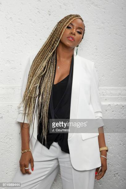 Singer/actress LeToya Luckett poses for a portrait at the 22nd Annual American Black Film Festival on June 14 2018 in Miami Beach Florida