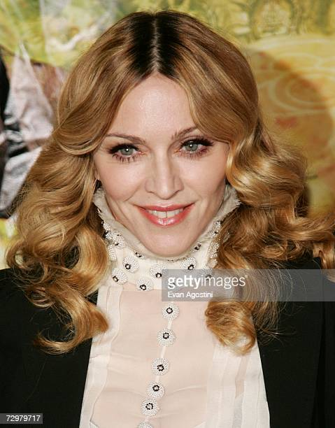Singer/actress Madonna hosts a special screening of 'Arthur And The Invisibles' at the Tribeca Cinemas January 11 2007 in New York City
