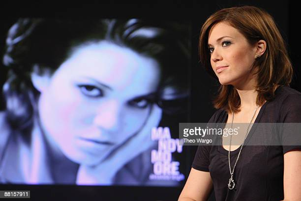 Singer/Actress Mandy Moore visits fuse Studios on June 2 2009 in New York City