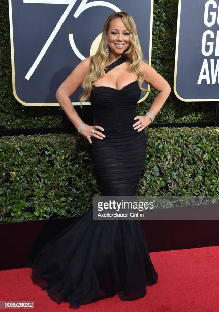 Singer/actress Mariah Carey attends the 75th Annual Golden Globe Awards at The Beverly Hilton Hotel on January 7 2018 in Beverly Hills California