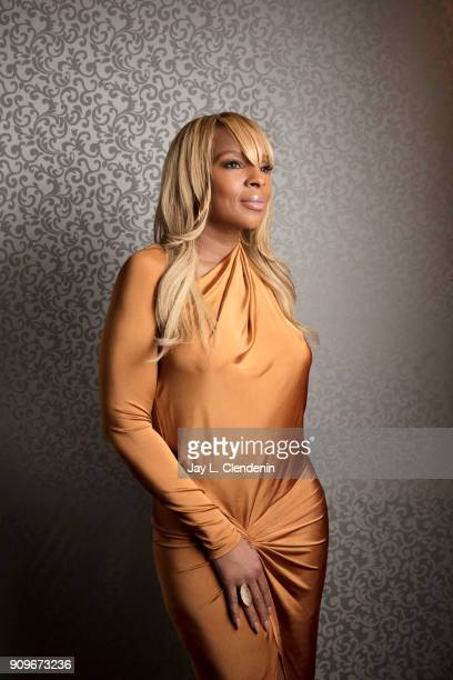 Singer/actress Mary J Blige is photographed for Los Angeles Times on January 5 2018 in Los Angeles California PUBLISHED IMAGE CREDIT MUST READ Jay L...