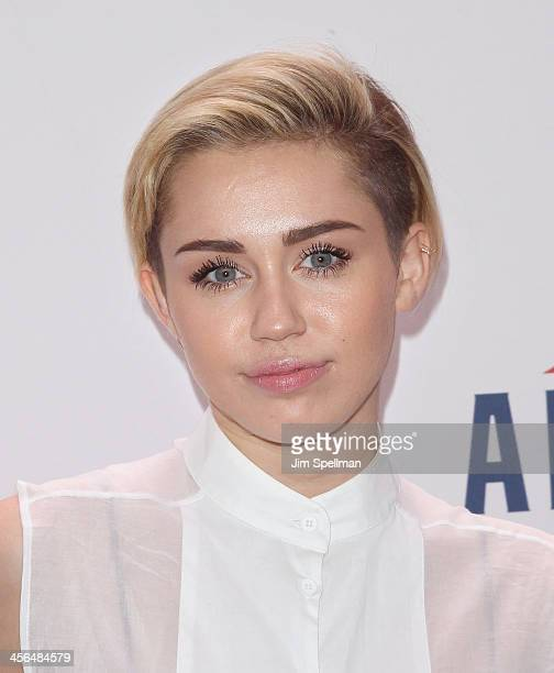 Singer/actress Miley Cyrus attends Z100's Jingle Ball 2013 at Madison Square Garden on December 13 2013 in New York City
