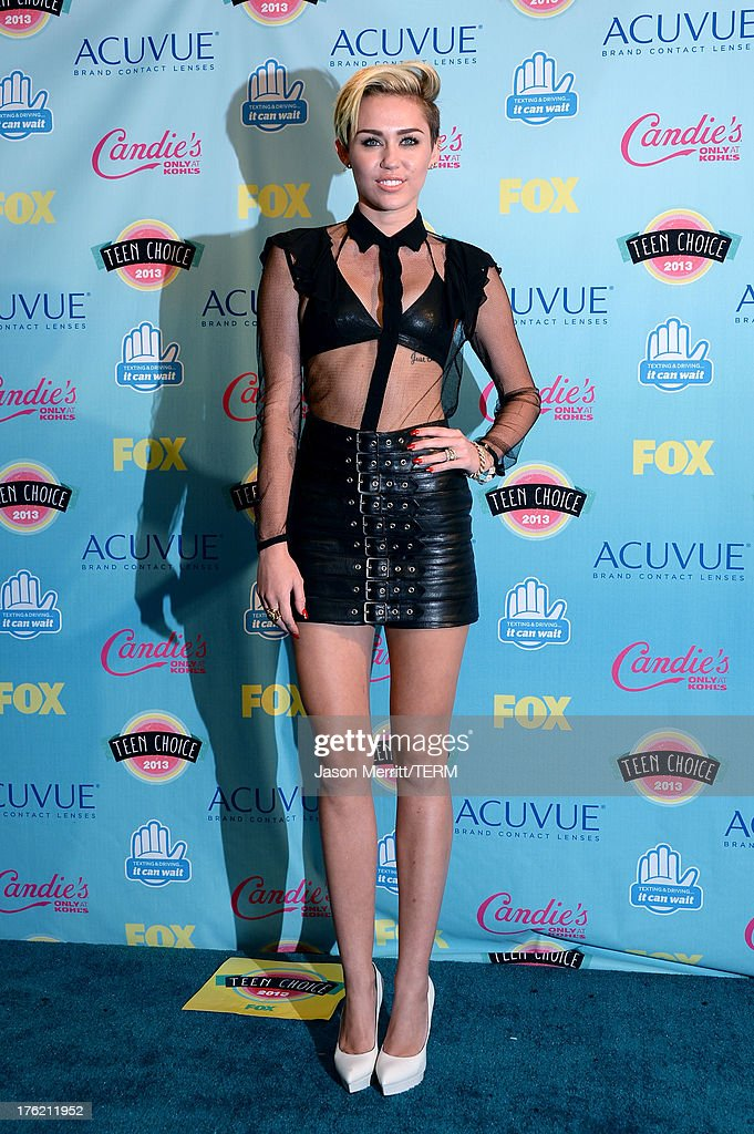 Teen Choice Awards 2013 - Press Room : News Photo