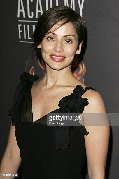Singer/actress Natalie Imbruglia arrives at The Orange British Academy Film Awards at the Odeon Leicester Square on February 19 2006 in London England