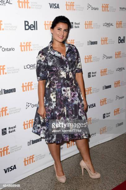 Singer/actress Nelly Furtado attends The Good Lie premiere during the 2014 Toronto International Film Festival at The Elgin on September 7 2014 in...