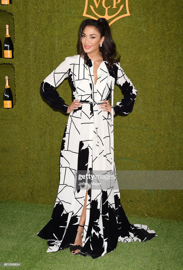 Singer/actress Nicole Scherzinger attends the 8th Annual Veuve Clicquot Polo Classic at Will Rogers State Historic Park on October 14, 2017 in Pacific Palisades, California.