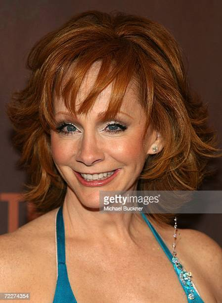 Singer/actress Reba McEntire arrives at the Country Music Television's CMT Giants honoring Reba McEntire at the Kodak Theatre on October 26 2006 in...