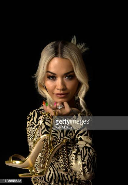 CA: Rita Ora and Giuseppe Zanotti, Los Angeles Times, February 10, 2018