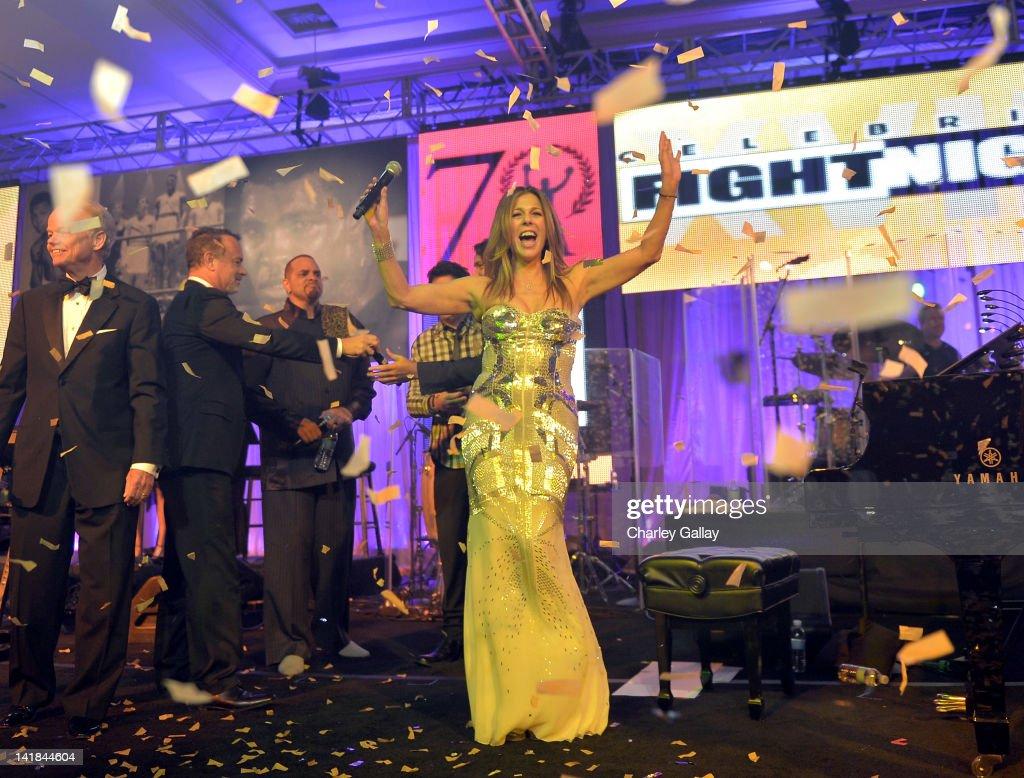 Singer/actress Rita Wilson performs onstage during Muhammad Ali's Celebrity Fight Night XVIII held at JW Marriott Desert Ridge Resort & Spa on March 24, 2012 in Phoenix, Arizona.