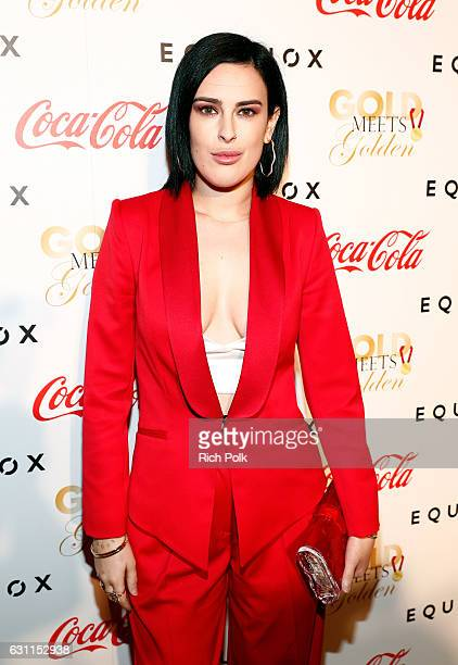 Singer/actress Rumer Willis attends Life is Good at GOLD MEETS GOLDEN Event at Equinox on January 7 2017 in Los Angeles California