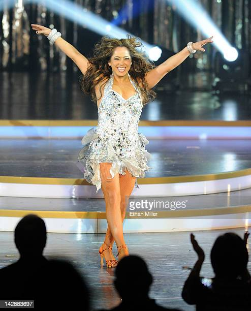 Singer/actress Sabrina Bryan performs during the grand opening of Dancing With the Stars Live in Las Vegas at the New Tropicana Las Vegas April 13...
