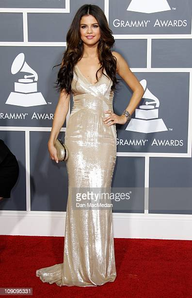 Singer/Actress Selena Gomez attends The 53rd Annual GRAMMY Awards at Staples Center on February 13, 2011 in Los Angeles, California.