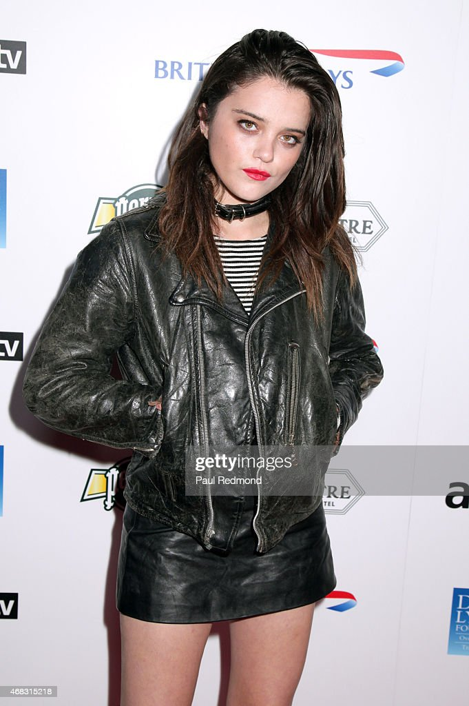 Singer/actress Sky Ferreira arriving at The Music of David Lynch Benefiting the 10th anniversary of The David Lynch Foundation at The Ace Hotel Theater on April 1, 2015 in Los Angeles, California.