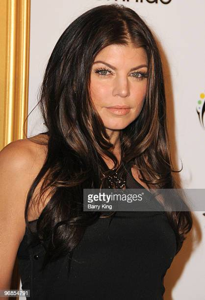 Singer/actress Stacy 'Fergie' Ferguson attends the 1st annual Data Awards at Hollywood Palladium on January 28 2010 in Hollywood California