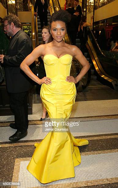 Singer/actress Syesha Mercado attends the 68th Annual Tony Awards Gala at The Plaza Hotel on June 8 2014 in New York City