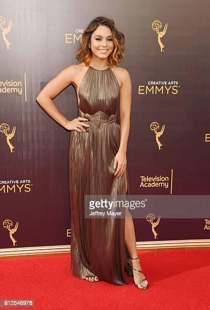 Singer/actress Vanessa Hudgens attends the 2016 Creative Arts Emmy Awards held at Microsoft Theater on September 11 2016 in Los Angeles California
