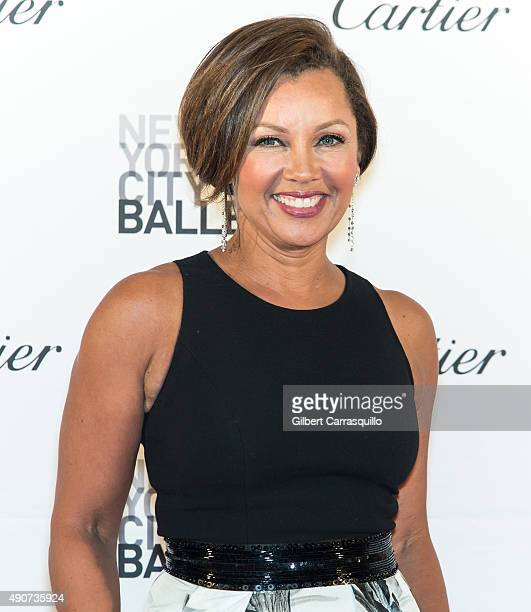Singer/actress Vanessa L Williams attends the 2015 New York City Ballet Fall Gala at David H Koch Theater at Lincoln Center on September 30 2015 in...
