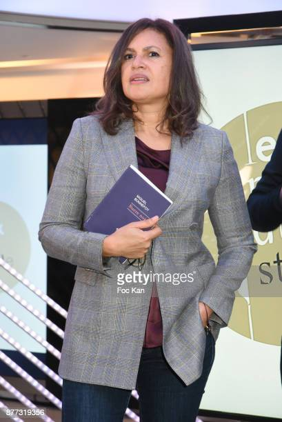 Singer/actress Viktor Lazlo attends the 'Le Prix Du Style 2017' Literary awards Hosted by BMW Obadia Stasi and Page des libraires at BMW Brand Store...