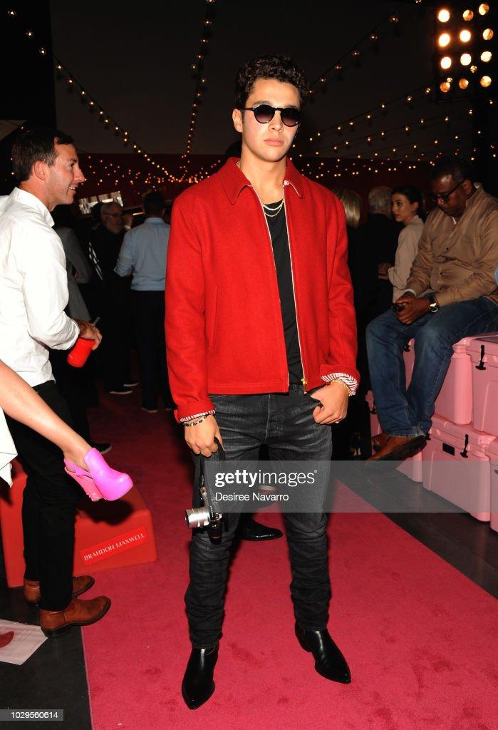 Brandon Maxwell - Front Row & Backstage - September 2018 - New York Fashion Week : News Photo