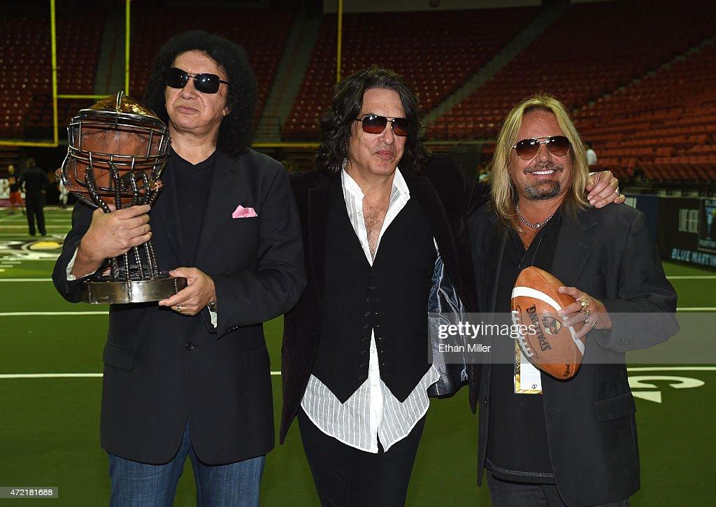Los Angeles Kiss v Las Vegas Outlaws : News Photo