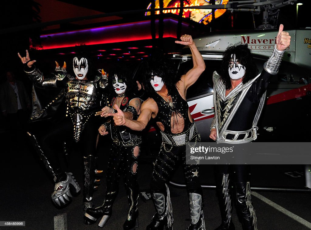 """Kiss Arrives At The Hard Rock To Kick Off Their """"Kiss Rocks Vegas"""" Residency"""