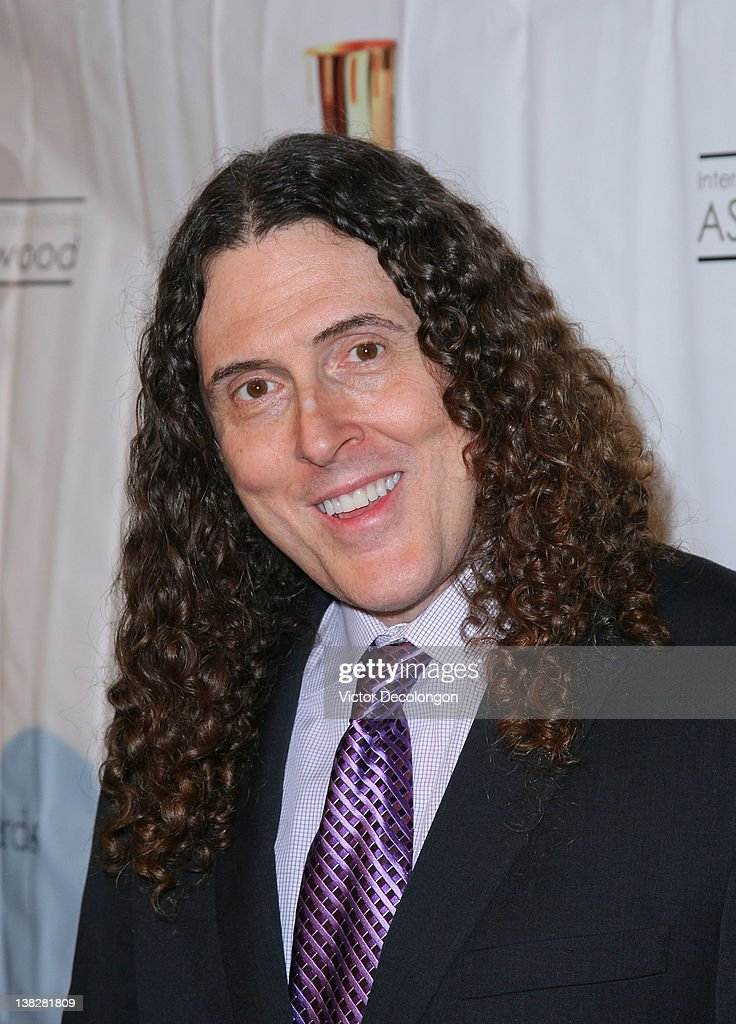 Singer/Comedian Weird Al Yankovic arrives for the 39th Annual Annie Awards at Royce Hall, UCLA on February 4, 2012 in Westwood, California.