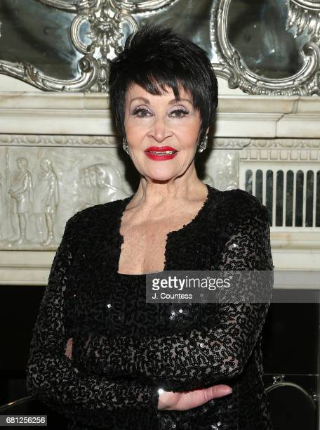 Singer/dancer Chita Rivera poses for a photo at Cafe Carlyle on May 9 2017 in New York City