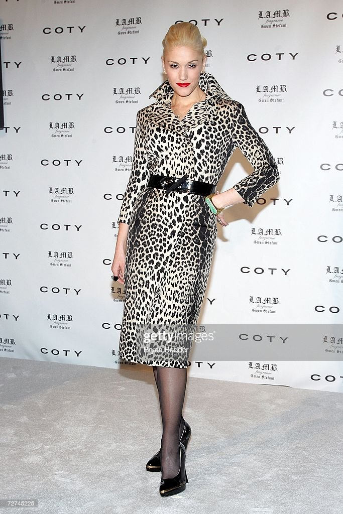Coty Announces New Celebrity Partnership With Gwen Stefani : News Photo
