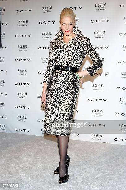 Singerdesigner Gwen Stefani attends a press conference to announce her as the new Coty celebrity partner on December 6 2006 in New York City
