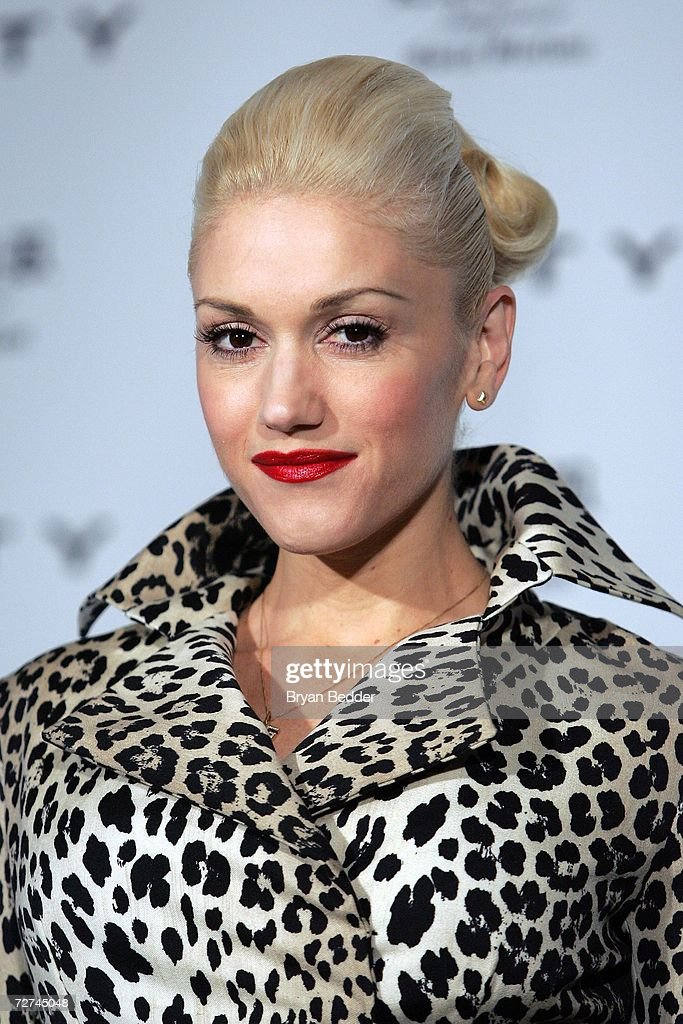 Singer\designer Gwen Stefani attends a press confrence to anounce her as the new Coty celebrity partner on December 6, 2006 in New York City.