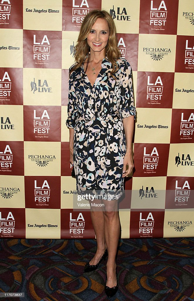 Singer/documentary subject Chely Wright attends the 'Wish Me Away' Q & A during the 2011 Los Angeles Film Festival held at Regal Cinemas L.A. LIVE on June 20, 2011 in Los Angeles, California.