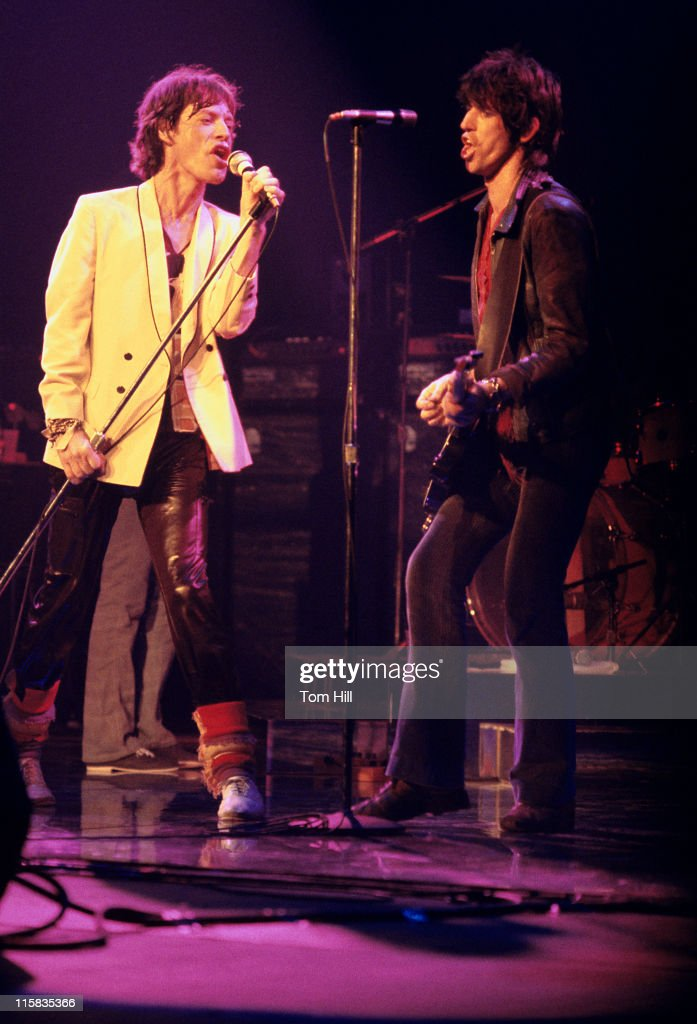 The Rolling Stones in Concert at the Fox Theatre in Atlanta - June 12, 1978 : News Photo