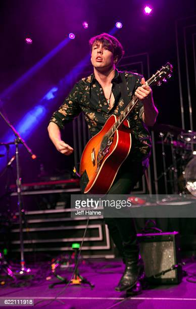 Singer/guitarist Barns Courtney performs at The Fillmore Charlotte on November 9 2016 in Charlotte North Carolina