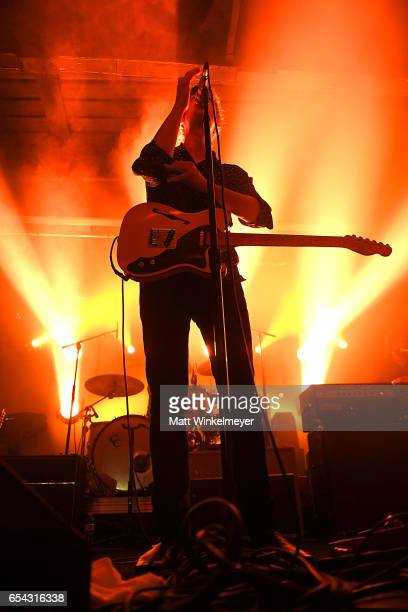 Singer/guitarist Britt Daniel of Spoon performs during the Spoon SXSW Residency 2017 SXSW Conference and Festivals on March 16, 2017 in Austin, Texas.